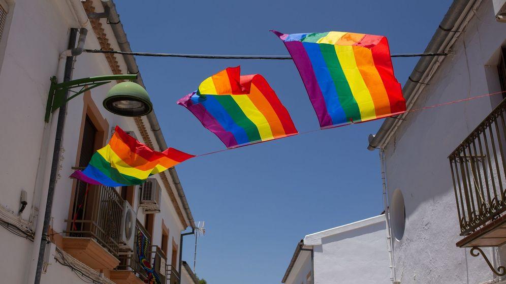 Foto: Banderas arcoíris. (EFE)