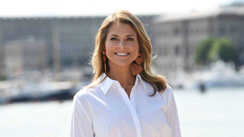 Foto: La princesa a su regreso a Suecia. (CP)
