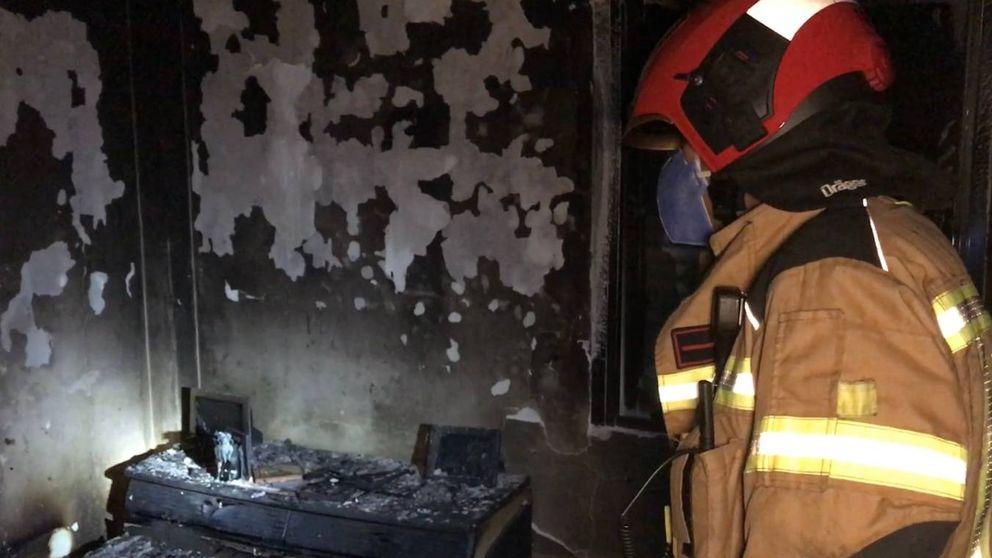Un hombre de 88 años muere en un incendio de su vivienda de Alcorcón