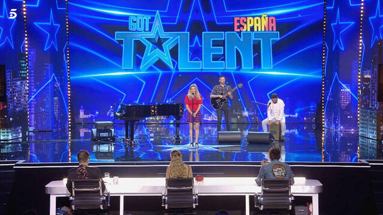 Asociación 'Música en vena', en 'Got Talent'. (Mediaset)