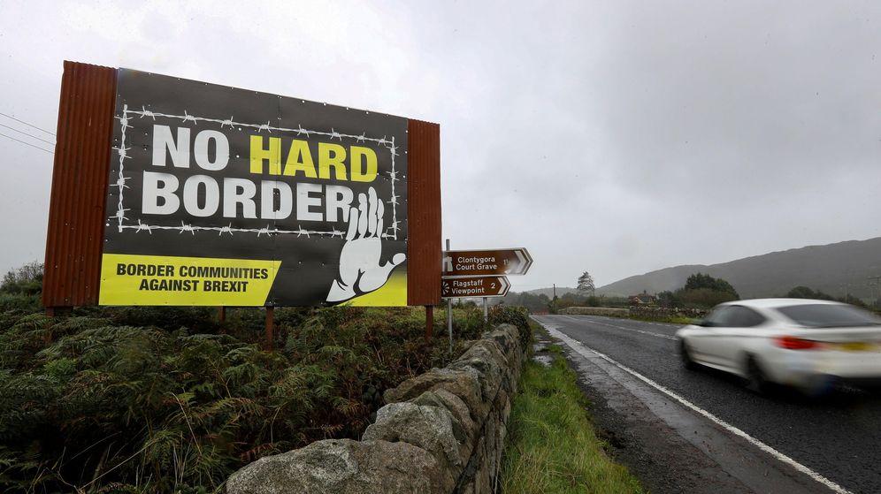 Foto: Frontera entre Irlanda e Irlanda del Norte. (Reuters)