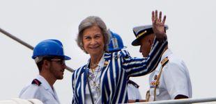 Post de La reina Sofía incondicional del rey Juan Carlos por primera vez en Sanxenxo