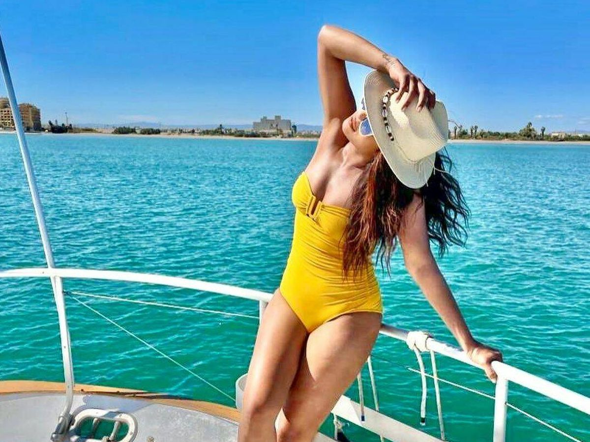 Foto: Priyanka Chopra, días de sol y playa en Valencia. (Redes)