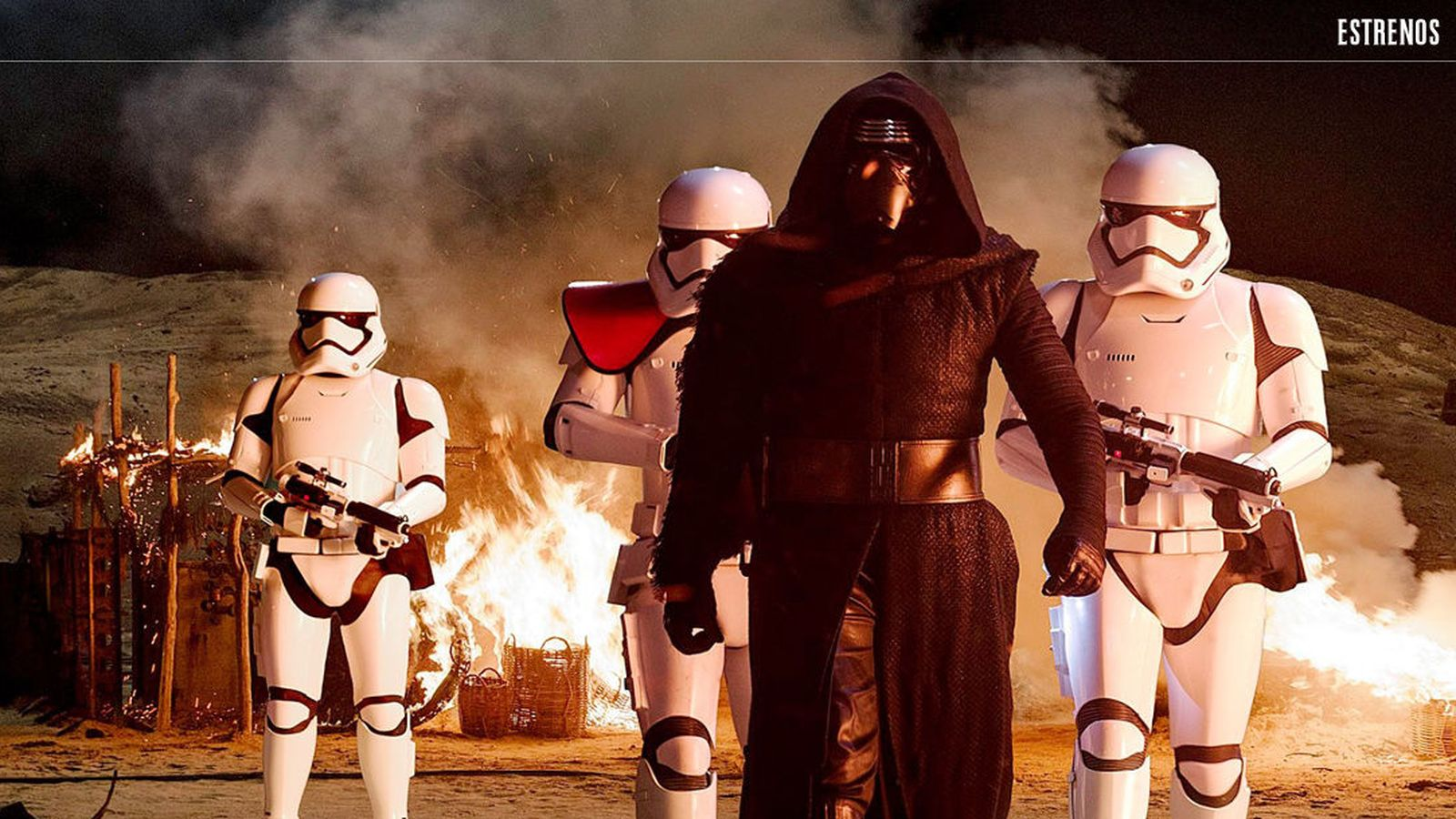 Foto: Fotograma de 'Star Wars: El despertar de la fuerza' (Disney)