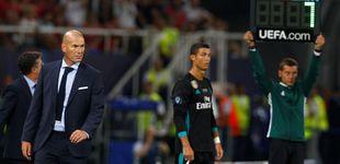 Post de Zidane somete a Cristiano a otra capitulación