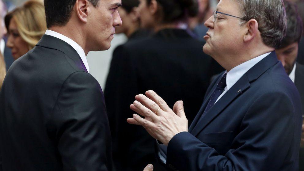 Sánchez y Puig escenifican una tregua por temor a un mal resultado el 26-J