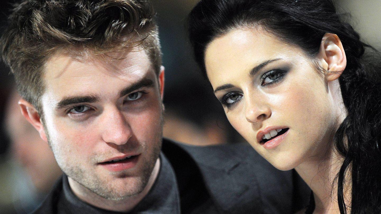 Con Kristen Stewart. (EFE)