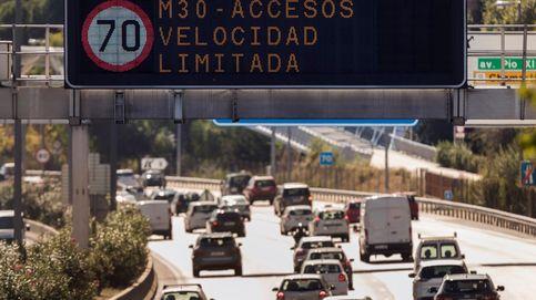 Madrid continuará este viernes con las limitaciones de velocidad por polución