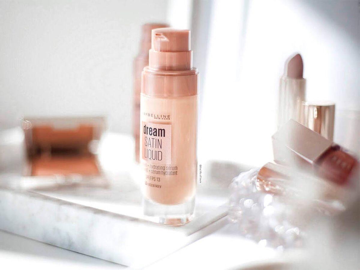 Foto: El corrector de Maybelline y otros productos de maquillaje de la marca (Maybelline)