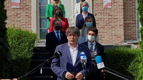 Puigdemont revienta el relato de Sánchez con el 'procés'