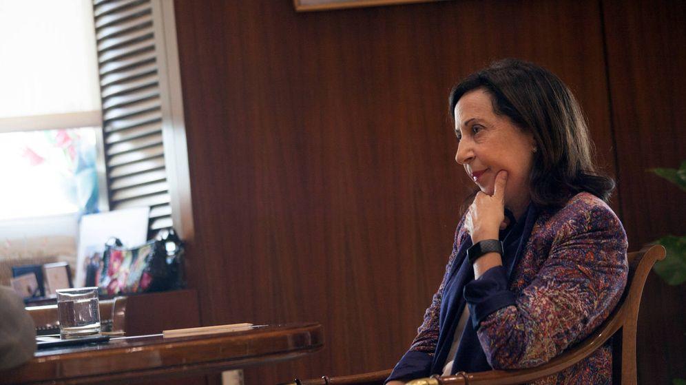 Foto: La ministra de Defensa en funciones, Margarita Robles. (E. Villarino)