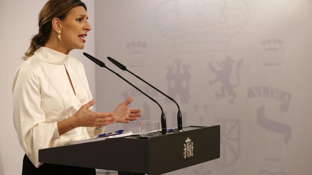 Foto: La ministra de Trabajo, Yolanda Díaz, está impulsando la contrarreforma laboral. (Efe)