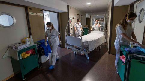 Los enfermeros otorgan un suspenso a su calidad de vida a causa del coronavirus