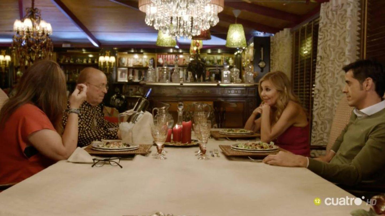 La mesa de Rappel en 'Ven a cenar conmigo'.