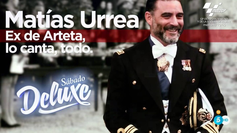 Imagen promocional de la entrevista a Urrea. (Telecinco).