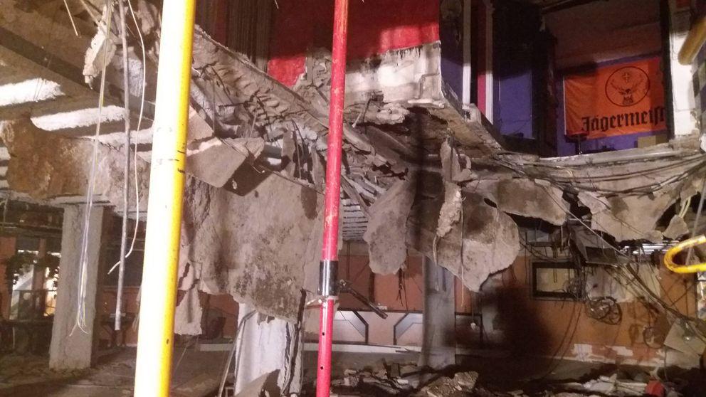 Aumentan a 40 los heridos tras hundirse de madrugada el suelo de una discoteca
