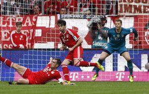 El Bayern continúa arrasando y el histórico Hamburgo toca fondo