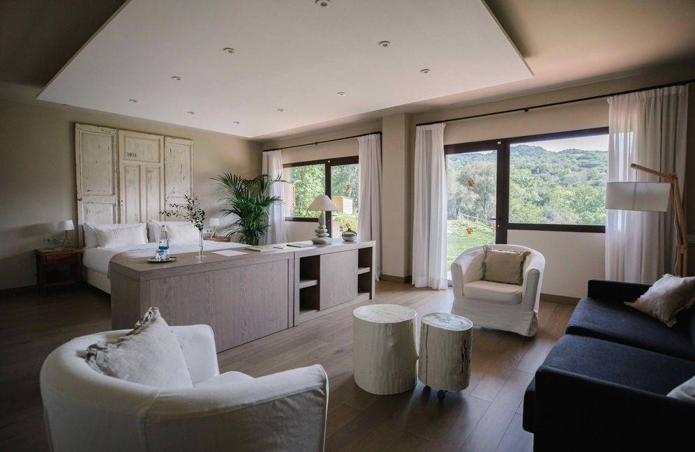 Foto: La suite Ginesta del hotel Mas Salagros, del heredero de Caprabo.