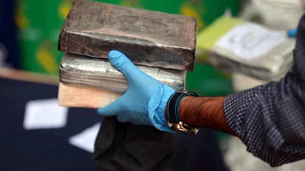 Foto: Fardos de cocaína intervenidos - Archivo. (EFE)