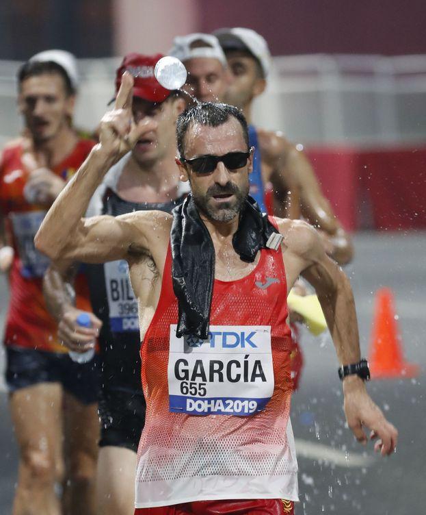 Foto: García Bragado, con 49 años y billete para Tokio. (EFE)
