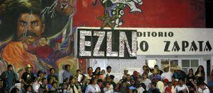 Foto: El sueño zapatista pervive en la selva mexicana