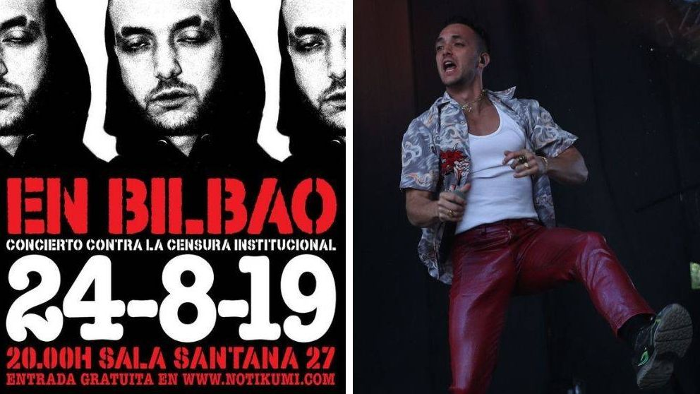 C. Tangana se salta su veto y actuará (gratis) en Bilbao: No hago discursos para educar