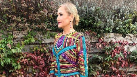 Cristina Cifuentes repite vestido 'low cost' para ir de boda