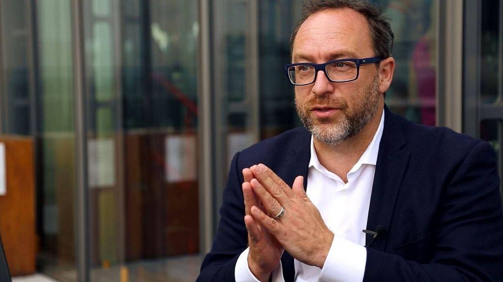 Foto: Jimmy Wales, creador de la Wikipedia