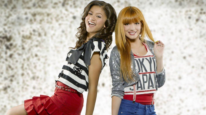 Zendaya Coleman y Bella Thorne en 'Shake it up!'. (Disney)