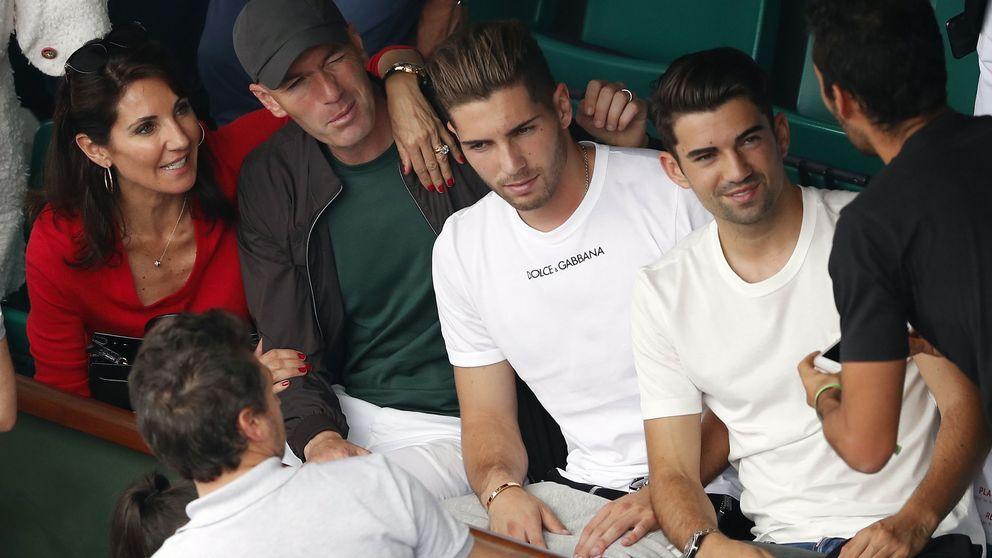 Los cuatro hijos 'perfectos' de Zidane: futbolistas de éxito con club de fans