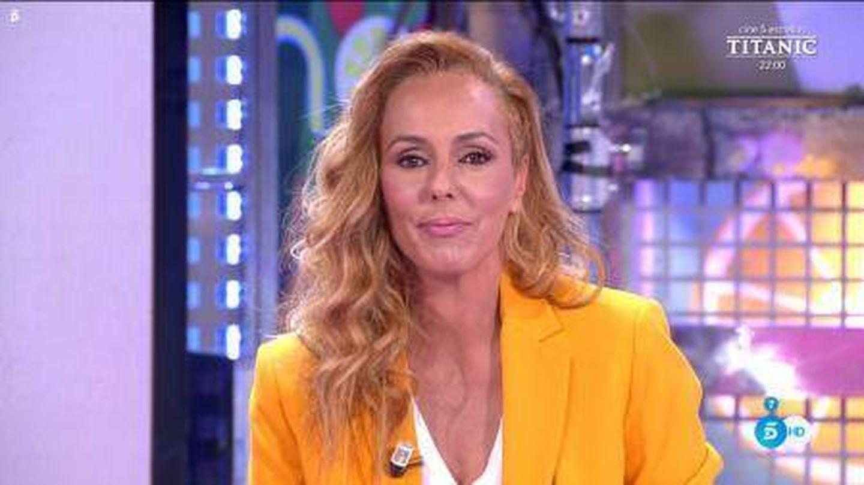 Rocío Carrasco, en 'Sálvame'. (Telecinco)
