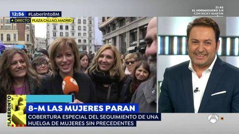 Récord histórico de 'Espejo público' (26,2%) sin la competencia de Ana Rosa