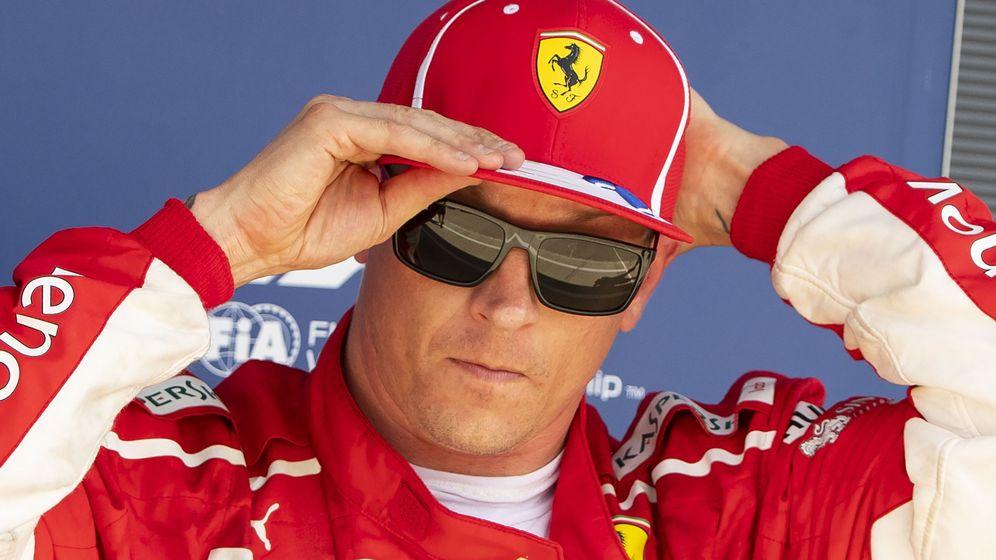 Foto: Raikkonen durante el GP de Gran Bretaña. (EFE)