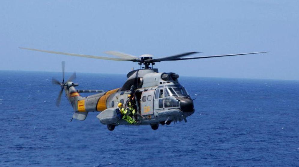 Foto: Un helicóptero del SAR en una imagen de archivo. (Ejército del Aire)