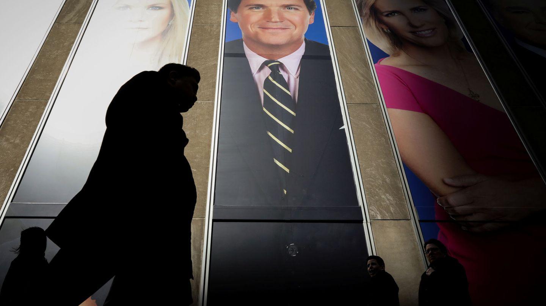 Tucker Carlson, uno de los principales presentadores de la Fox. (Reuters)
