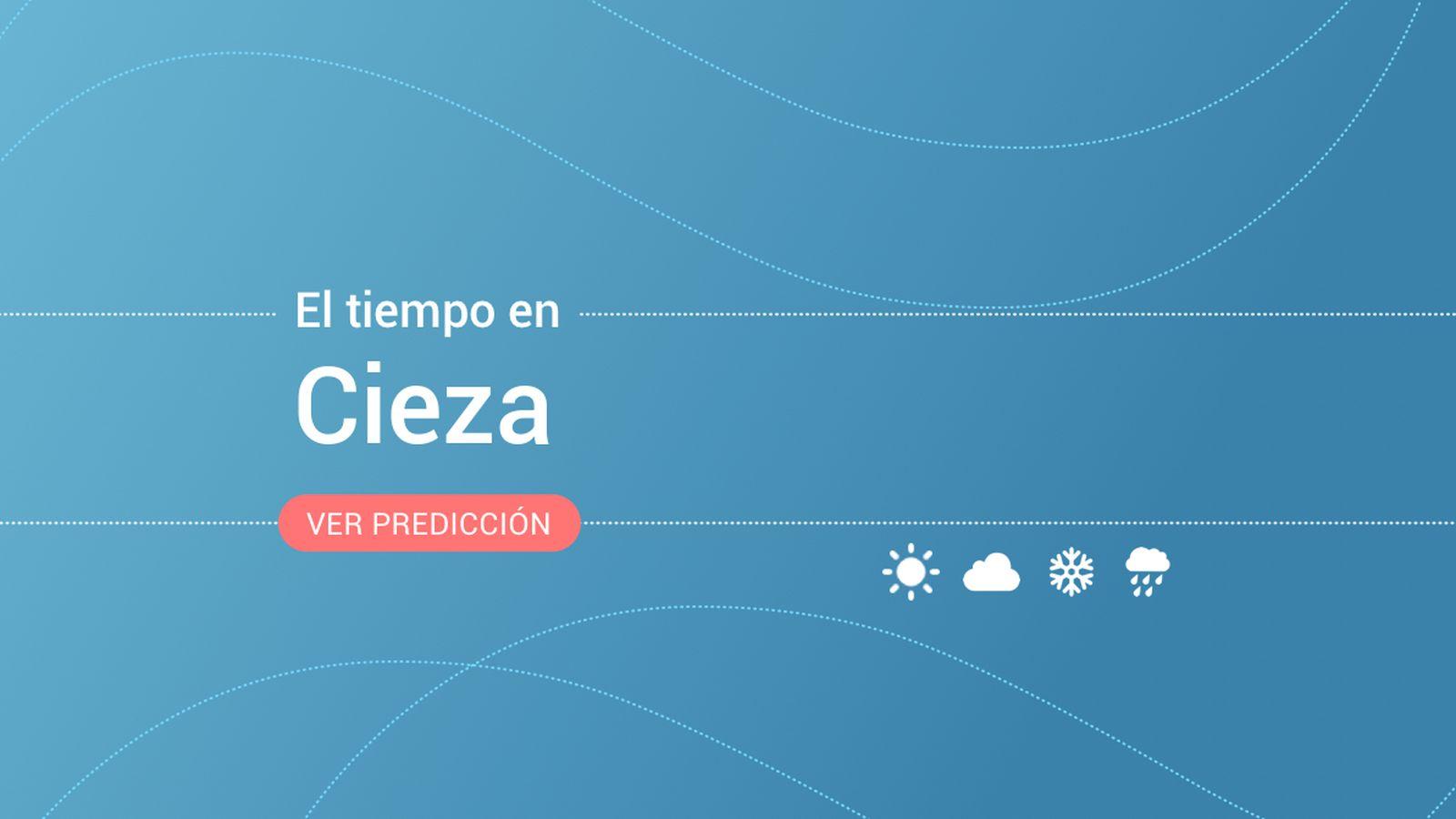 Foto: El tiempo en Cieza. (EC)
