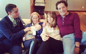 Fiona Ferrer viaja a NY para conocer al hijo de Royo-Villanova