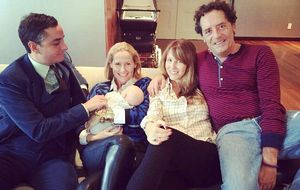 Fiona Ferrer viaja a Nueva York para conocer al hijo de Vega Royo-Villanova