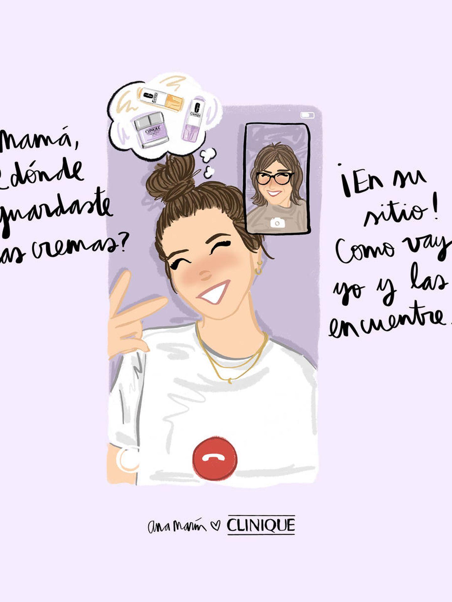 Ana Marín para Clinique.