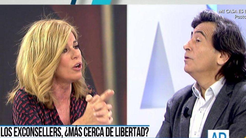 Esther Palomera se enfrenta a Arcadi Espada en 'AR': Me levanto y me voy