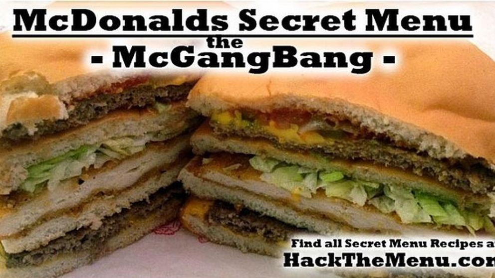 Los 'menús secretos' de McDonald's: entre ellos, una hamburguesa de 890 $