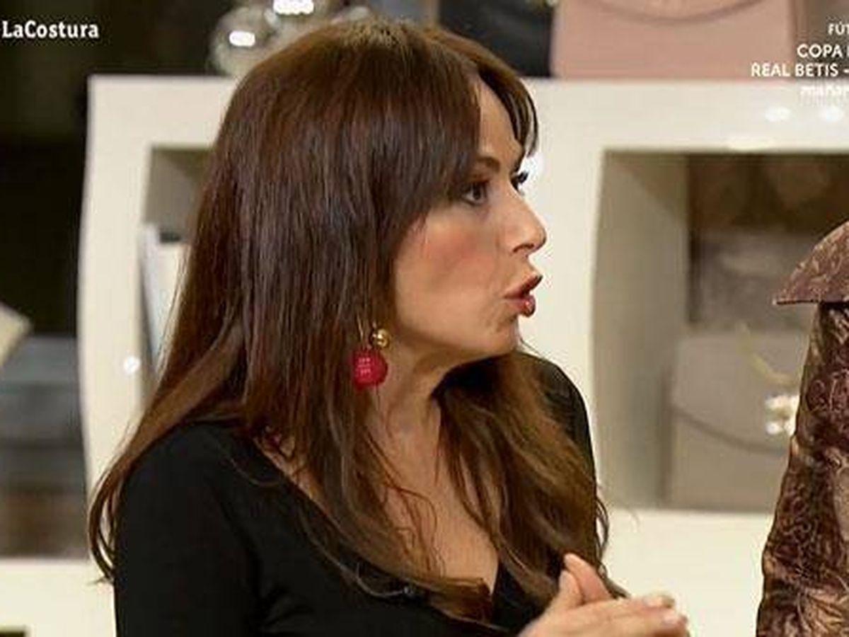 Foto: María Escoté, en 'Maestros de la costura'. (TVE)