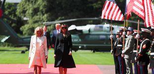 Post de Melania Trump y Brigitte Macron: más amigas que primeras damas