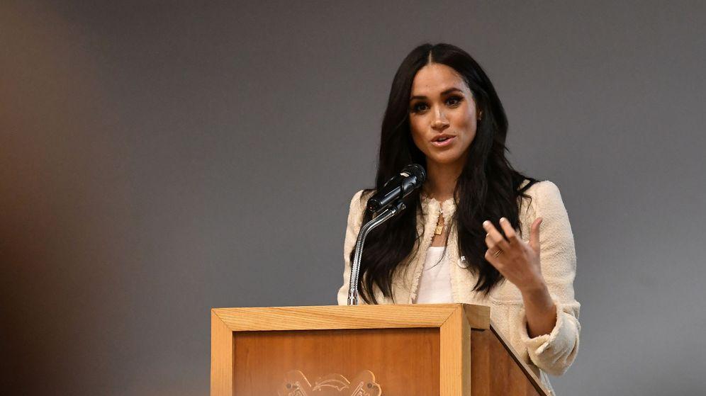 Foto: Meghan Markle, el pasado marzo, visitando un colegio de Londres. (Reuters)