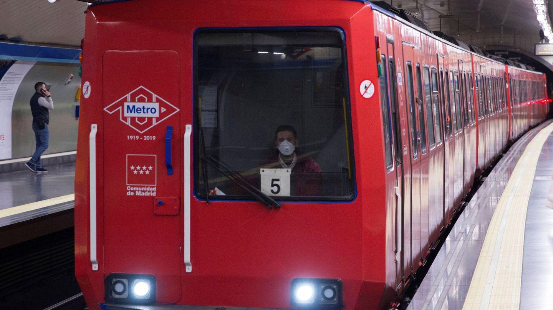 Un vehículo del Metro de Madrid. (EFE)