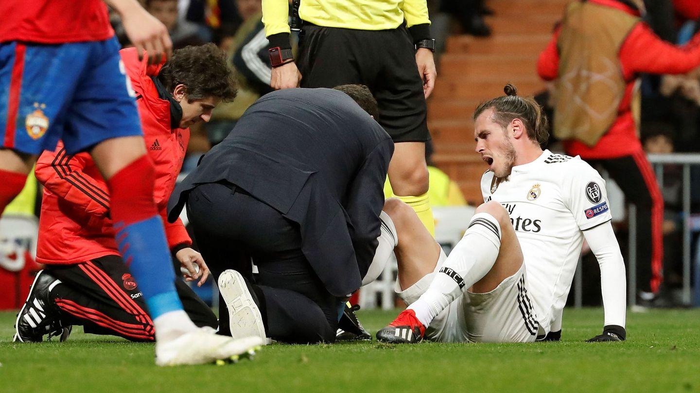 Bale se duele del tobillo. (EFE)