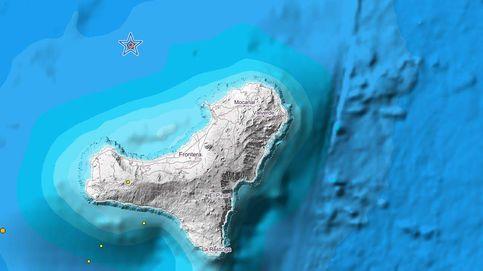 Registrado un ligero terremoto de magnitud 3.7 en la isla de El Hierro
