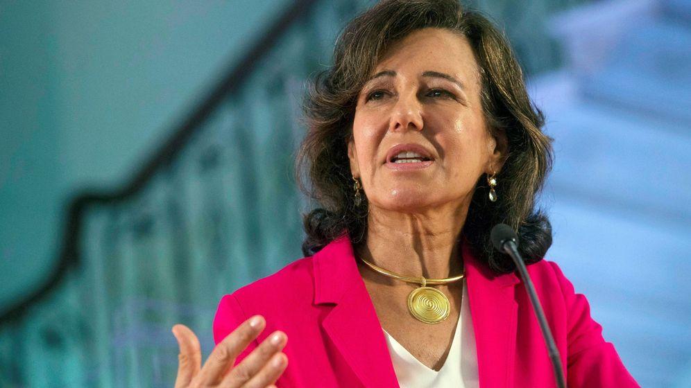 Foto: Ana Botín durante una intervención en público. (EFE)