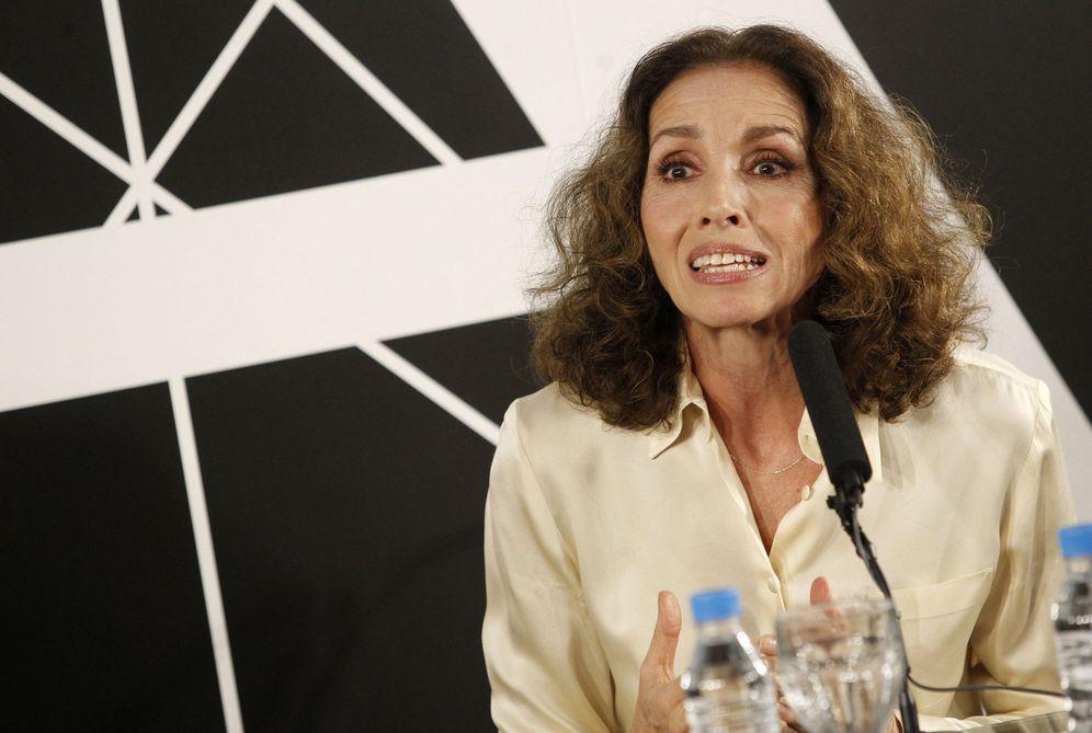 Foto: Ana Belén, hoy, en Madrid (EFE)