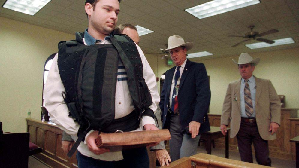 Foto: John William King, en el momento de ser juzgado en 1989. (Reuters)